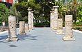 Columnes procedents de l'antic hospital general, València.JPG