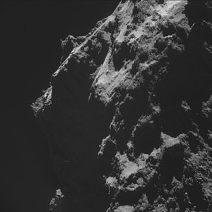 Comet 67P on 18 October 2014 NavCam C.jpg