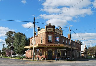 Stockinbingal - Image: Commercial Hotel Stockinbingal