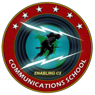 Communications School (United States Marine Corps) - Image: Commschoollogo