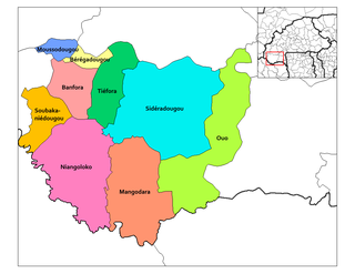 Mangodara Department Department in Comoé Province, Burkina Faso