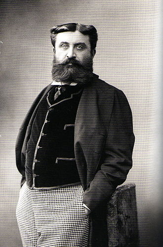 Henry Greffulhe - Photograph taken by Nadar in 1881