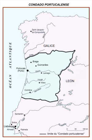 County of Portugal - Second County of Portugal