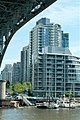 Condo building viewed from under Granville Bridge (2538883423).jpg