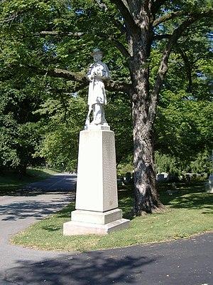 Confederate Soldier Monument in Lexington - Image: Confederate Soldier Monument in Lexington 1