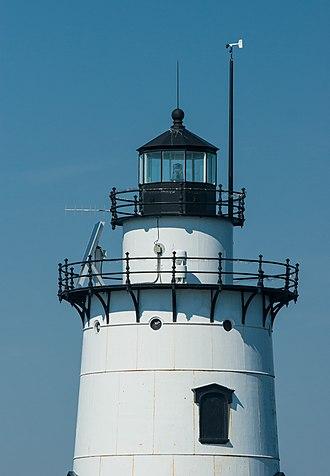 Conimicut Light - Image: Conimicut Lighthouse 2007 close view