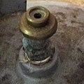 Connector of an LPG cylinder as used in Suriname.jpg