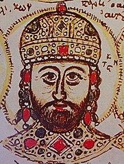 Constantine XI Palaiologos miniature
