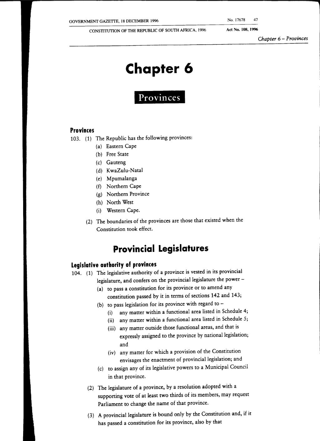 Page:Constitution of the Republic of South Africa 1996 from