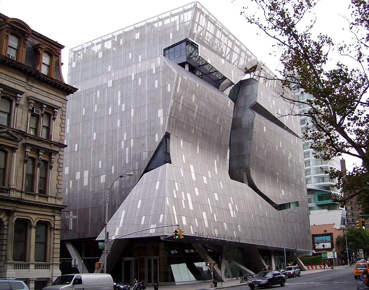 Real Architecture Buildings 41 cooper square - wikipedia