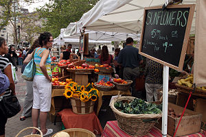 English: Copley Square Farmer's Market