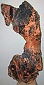 Copper (Mesoproterozoic, 1.05-1.06 Ga; White Pine Mine, Ontonagon County, Michigan, USA) 1 (16673131054).jpg