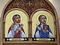 Coptic Orthodox Church of Saint George, Stevenage, icons (21263725036).jpg
