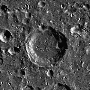 Cori (lunar crater) - Image: Cori LROC