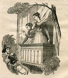 Corinna adorata dagli italiani (illustrazione di G. Staal)