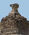 Corinthian capital over concretions Pompeii.jpg