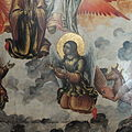 Coronation of Virgin by Nikifor Georgiev (1733, Russian museum) 03.JPG