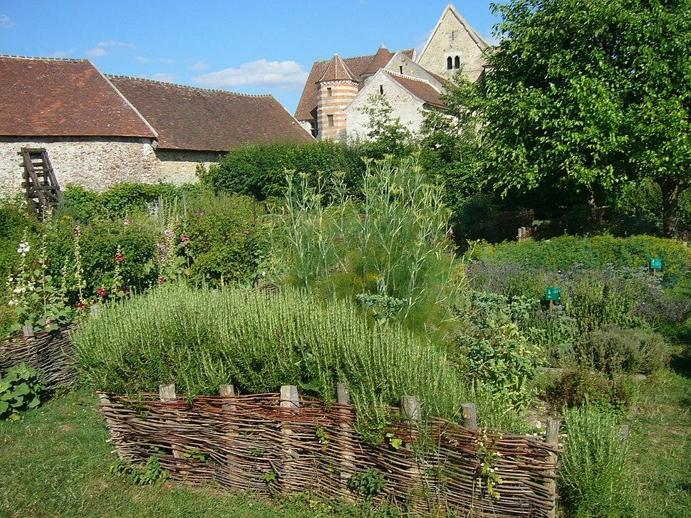 Coulommiers Vue Jardin Medieval