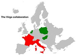 Countries involved in the Virgo experiment.jpg