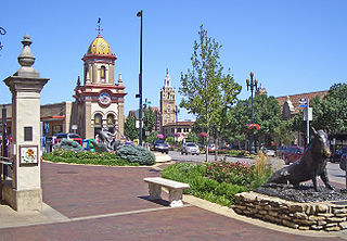 Country Club Plaza human settlement in Kansas City, Missouri, United States of America
