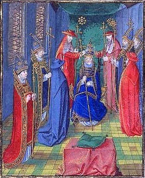 Fichier:Couronnement de Benoît XIII.jpg