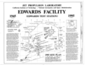 Cover Sheet, 1995 Site Plan - Jet Propulsion Laboratory Edwards Facility, Edwards Air Force Base, Boron, Kern County, CA HAER CAL,15-BORON.V,1- (sheet 1 of 4).png