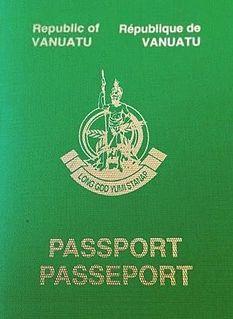 Vanuatu passport passport