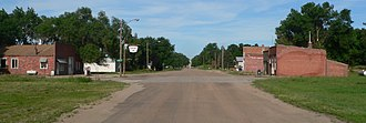 Crab Orchard, Nebraska - Downtown Crab Orchard: 725 Rd
