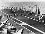 Crash barrier on USS Bennington (CVS-20) in 1962.jpg