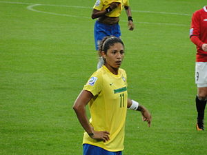Cristiane Rozeira - Cristiane during the 2011 FIFA Women's World Cup