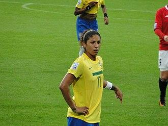 Cristiane Rozeira - Cristiane during the 2011 FIFA Women's World Cup