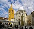 Croatia Lovran St. George church BW 2014-10-10 15-04-29.jpg