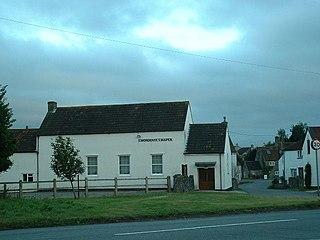 Cromhall village in the United Kingdom