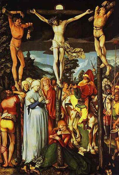 Fichier:Crucifixion Hans Baldung Grien.jpg