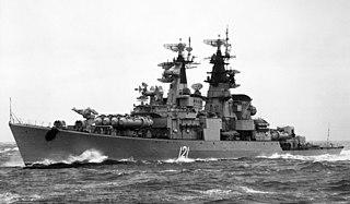 Soviet cruiser <i>Groznyy</i>
