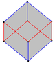 Cube petrie polygon sideview