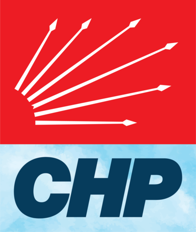 """Six Arrows"" as depicted by the CHP's logo Cumhuriyet Halk Partisi.png"
