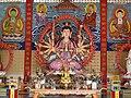 Cundi Bodhisattva, flanked by devas.jpg