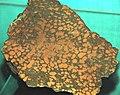 Cupriferous amygdaloidal basalt (Mesoproerozoic, 1.05-1.06 Ga; Keweenaw Peninsula, northern Michigan, USA) (16691110994).jpg