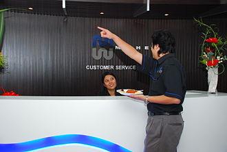 Malaysia Marine and Heavy Engineering - Customer service in MHB office