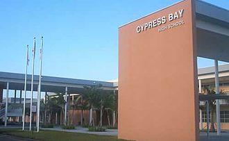 Cypress Bay High School - Image: Cypress Bay High
