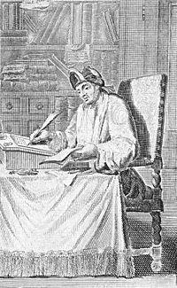 Cyrano de Bergerac i en 1600-talsillustration.