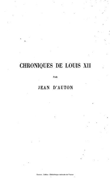 File:D'Auton - Chroniques de Louis XII, tome 3.djvu