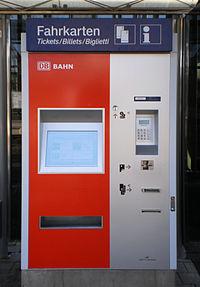 fahrkartenautomat db standorte