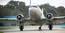 Dc 3 revolvy a 1944 douglas dc 3c starting its engines and taxiing with its tail wheel unlocked 2015 sciox Image collections