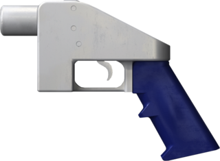 Liberator (gun) 3D-printable single shot handgun
