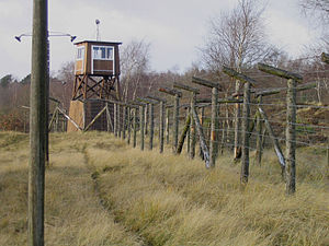 Frøslev Prison Camp - Fence and guard tower