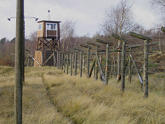 Frøslev Prison Camp - Fence and guard tower