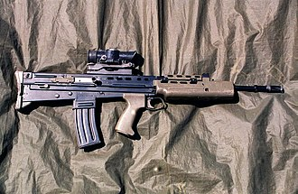 SA80 - L85A1 with SUSAT