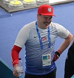 DSS at 2018 Winter Olympics in PyeongChang - Matt and Becca Hamilton (cropped).jpg